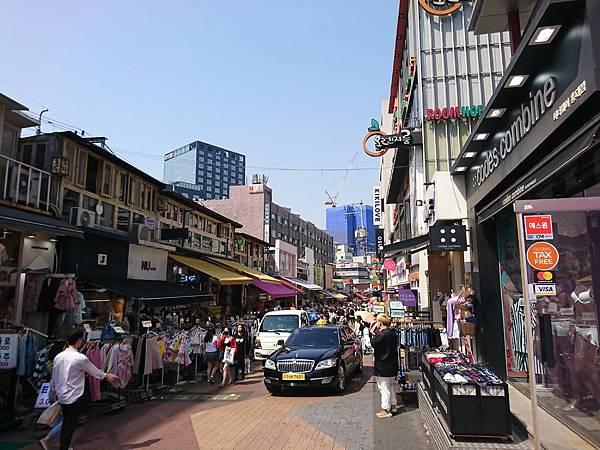 弘大熱鬧街道