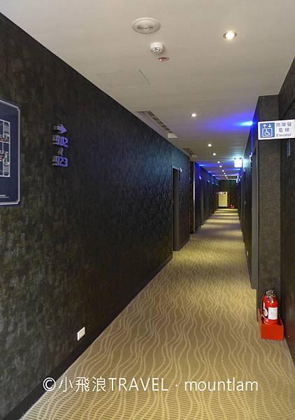 摩莎曼拉精品旅館台北車站館評價_走廊