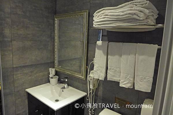 摩莎曼拉精品旅館台北車站館評價_浴室毛巾
