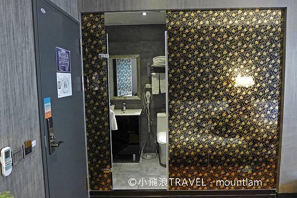 摩莎曼拉精品旅館台北車站館評價_浴室