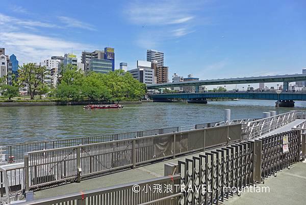 大阪周遊卡景點: 大阪觀光船Osaka Wonder Cruise上船碼頭