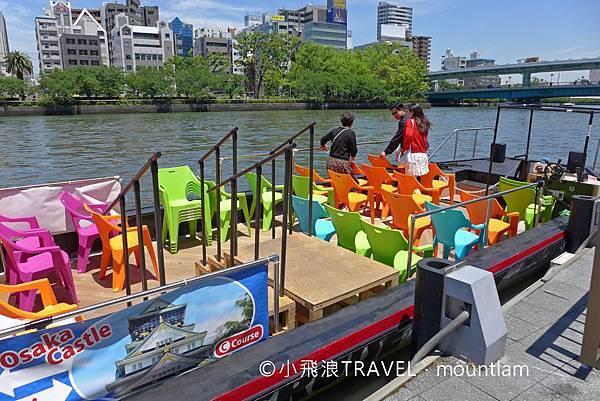 大阪周遊卡景點: 大阪觀光船Osaka Wonder Cruise行程