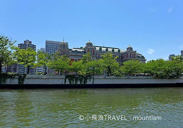 大阪周遊卡景點: 大阪觀光船Osaka Wonder Cruise會經過中之島
