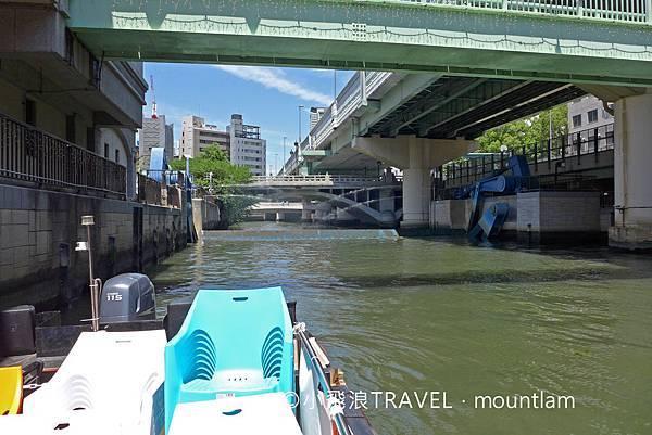 大阪周遊卡景點: 大阪觀光船Osaka Wonder Cruise會經過水門