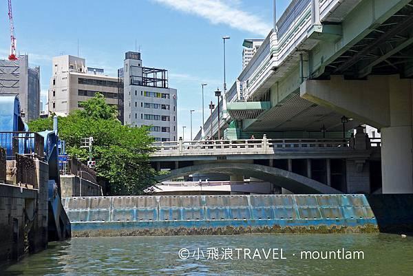 osaka amazing pass景點: 大阪觀光船Osaka Wonder Cruise會經過水門