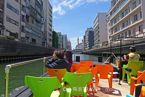 osaka amazing pass景點: 大阪觀光船Osaka Wonder Cruise