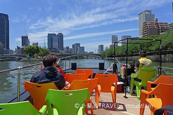 持周遊卡免費乘坐大阪觀光船Osaka Wonder Cruise