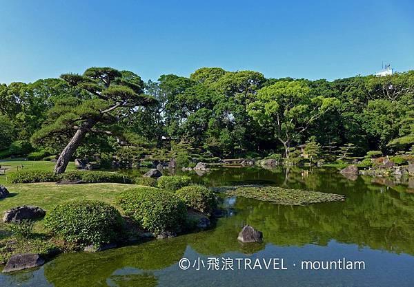 大阪周遊卡景點慶澤園:漂亮的日本庭園