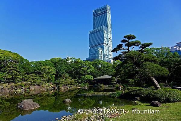 大阪周遊卡景點推薦:天王寺公園內的慶澤園可看到阿倍野