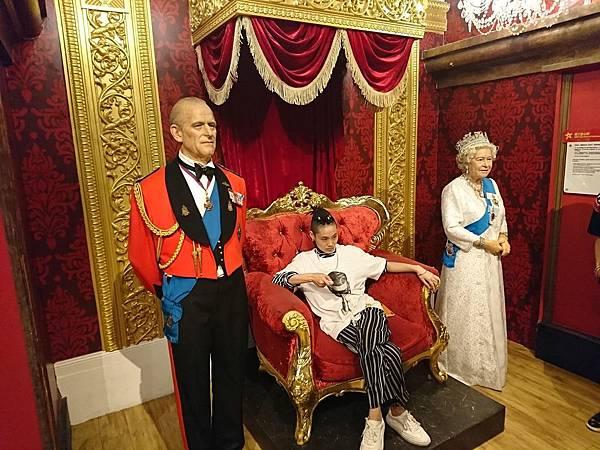 香港杜莎夫人蠟像館_英國皇室