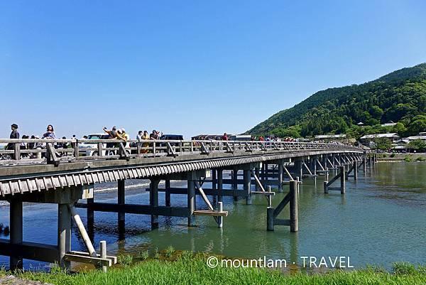大阪京都自由行6日5夜遊記: 京都嵐山渡月橋
