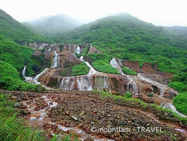 台北東北角海岸Local Tour:九份黃金瀑布