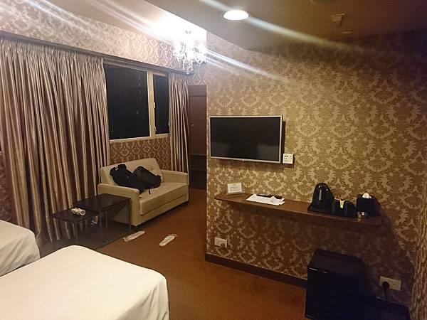 華麗都會酒店房間