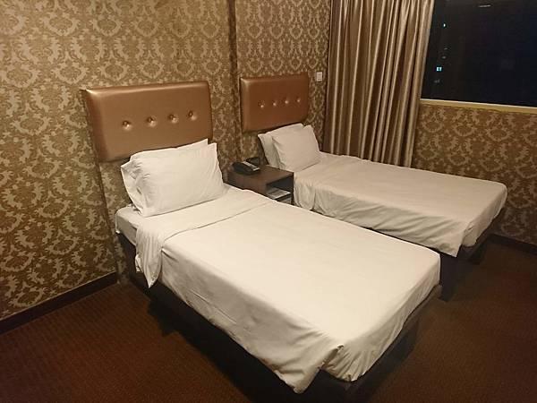 華麗都會酒店房間2