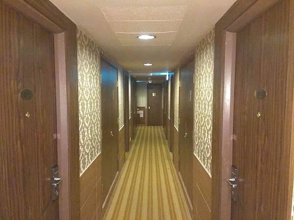 華麗都會酒店走廊