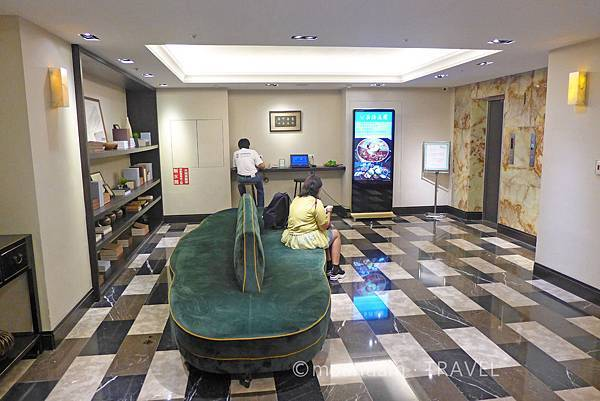 台中住宿寶島53行館升降機大堂