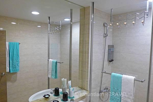 台中住宿寶島53行館雙人房浴室2