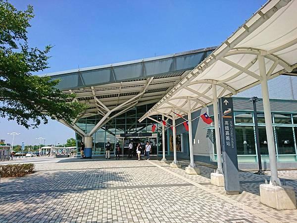 高鐵嘉義站出入口
