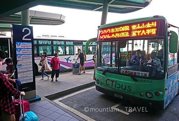 台中清泉崗機場公車站