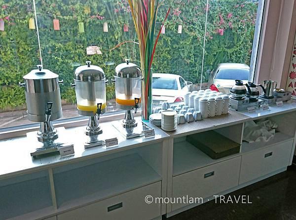 清邁紅燕酒店Roseate Hotel Chiang mai早餐