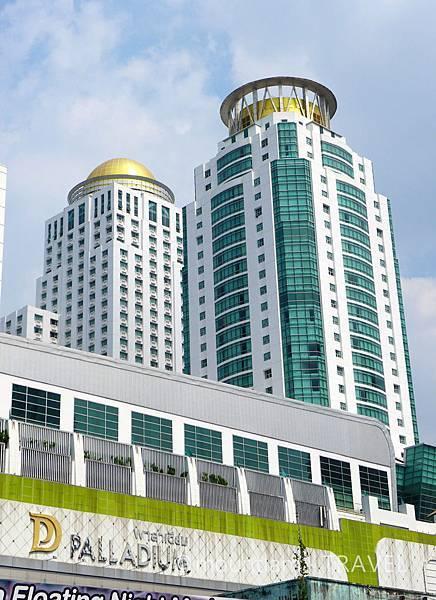曼谷市中心酒店:The Berkeley Hotel Pratunam水門伯克利酒店