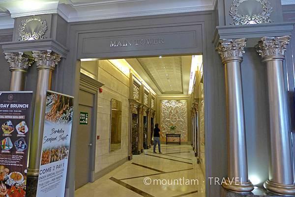曼谷市中心酒店:The Berkeley Hotel Pratunam水門伯克利酒店電梯大堂