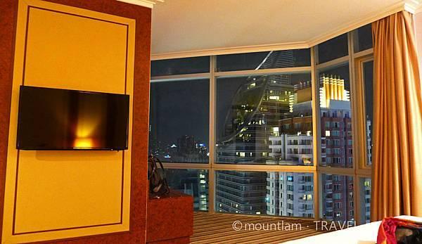 Central world附近酒店:The Berkeley Hotel Pratunam水門伯克利酒店的豪華4人家庭房
