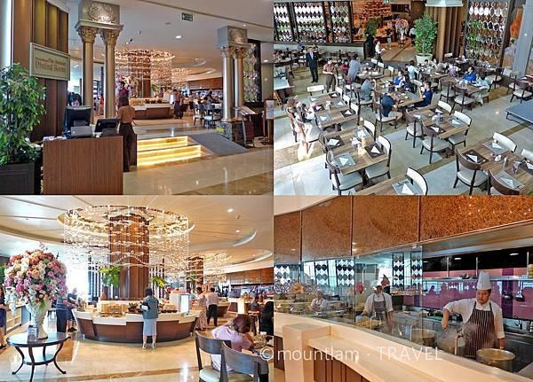 曼谷住宿:The Berkeley Hotel Pratunam水門伯克利酒店的早餐