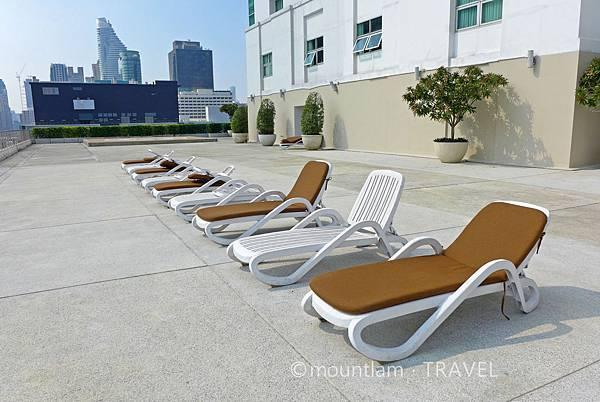 曼谷住宿:The Berkeley Hotel Pratunam水門伯克利酒店的泳池