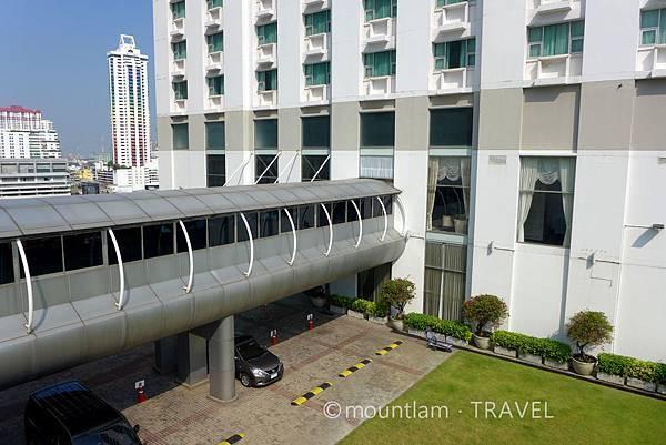 曼谷住宿:The Berkeley Hotel Pratunam水門伯克利酒店的North Tower