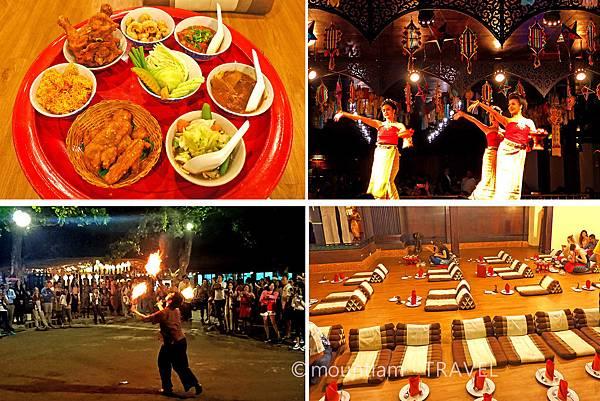 熱門清邁自由行親子活動: 康托克帝王餐宴Khum Khantoke 與傳統歌舞表演
