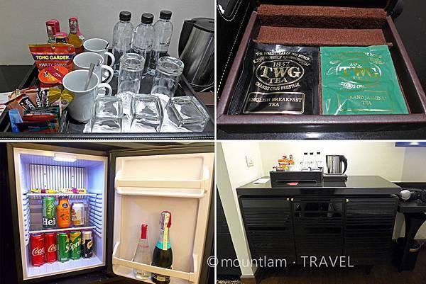 曼谷酒店推介: Mövenpick Hotel Sukhumvit 15 Bangkok曼谷素坤逸15巷瑞享酒店的家庭房minibar