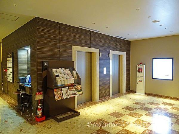 鹿兒島東急REI酒店升降機大堂 Kagoshima Tokyu REI Hotel
