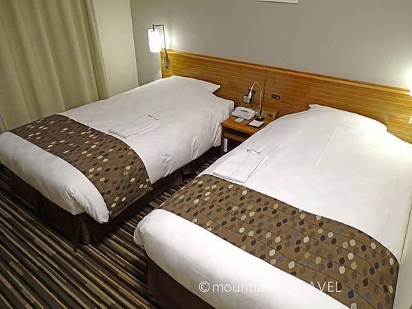 鹿兒島東急REI酒店雙人房 Kagoshima Tokyu REI Hotel