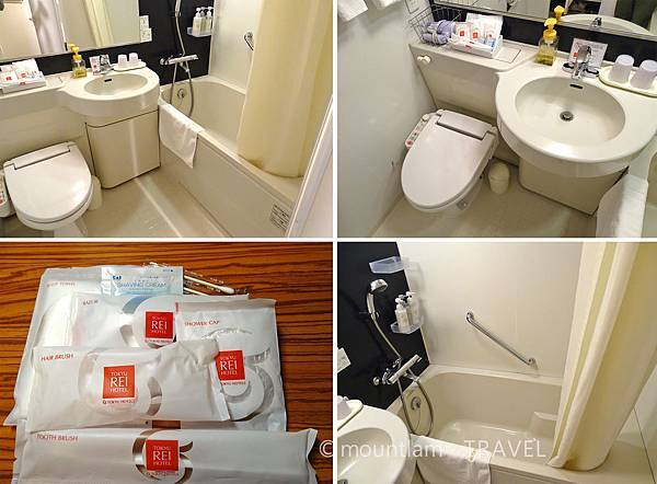 鹿兒島東急REI酒店浴室 Kagoshima Tokyu REI Hotel