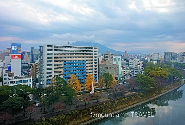 鹿兒島東急REI酒店雙人房風景 Kagoshima Tokyu REI Hotel
