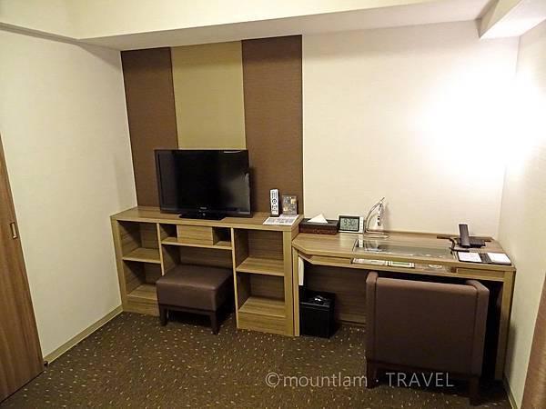 鹿兒島Dormy Inn酒店雙人房2 Dormy Inn Kagoshima Natural Hot Spring