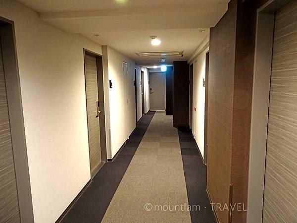 鹿兒島Dormy Inn酒店走廊 Dormy Inn Kagoshima Natural Hot Spring