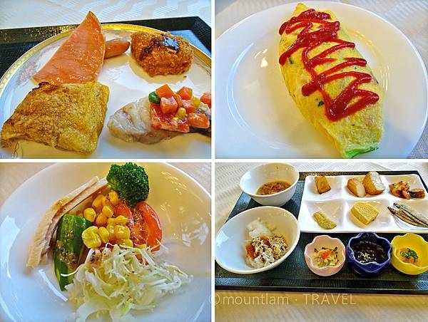 鹿兒島城山酒店早餐食物3 Shiroyama Hotel Kagoshima