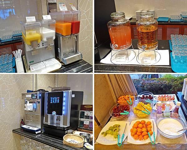 鹿兒島城山酒店早餐飲品及水果 Hotel Kagoshima