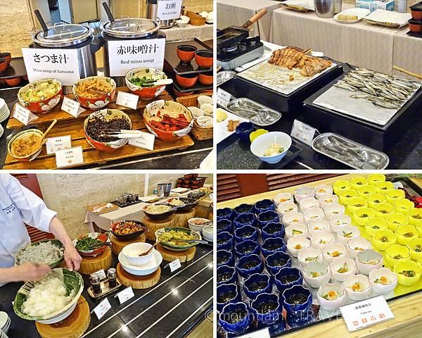 鹿兒島城山酒店早餐食物 Shiroyama Hotel Kagoshima