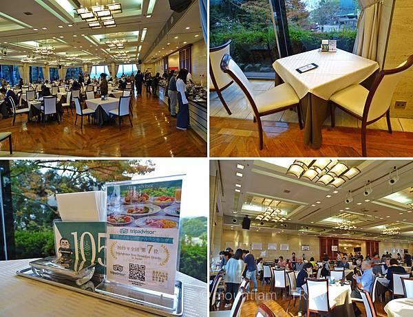 鹿兒島城山酒店早餐環境 Shiroyama Hotel Kagoshima