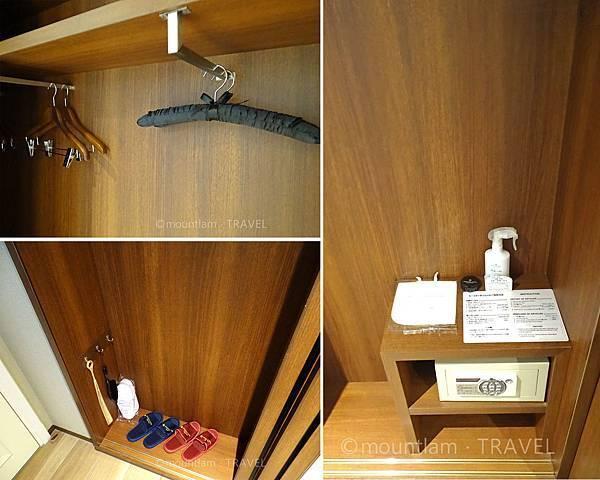 鹿兒島城山酒店雙人房衣櫃 Shiroyama Hotel Kagoshima