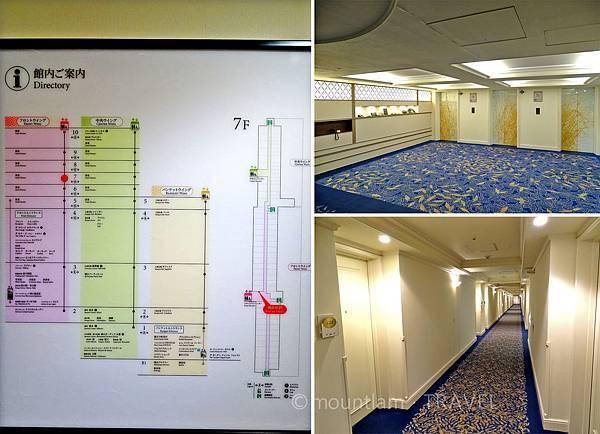 鹿兒島城山酒店設施、升降機及走廊 Shiroyama Hotel Kagoshima