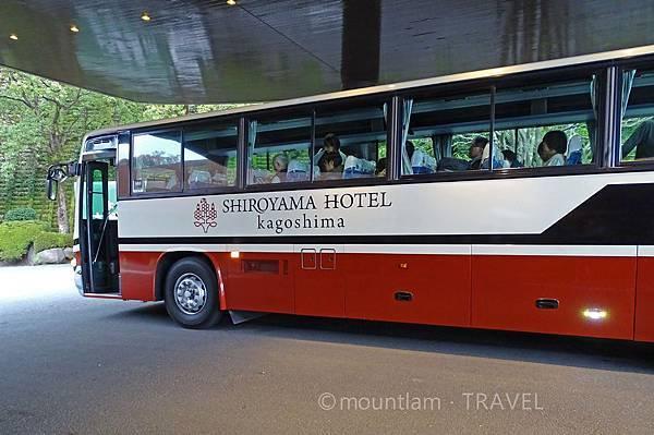 鹿兒島城山酒店免費接駁交通 Hotel Kagoshima