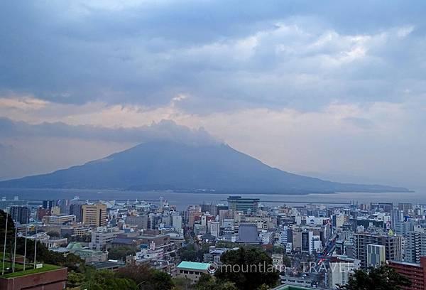 鹿兒島城山酒店高級雙人房景觀 Shiroyama Hotel Kagoshima