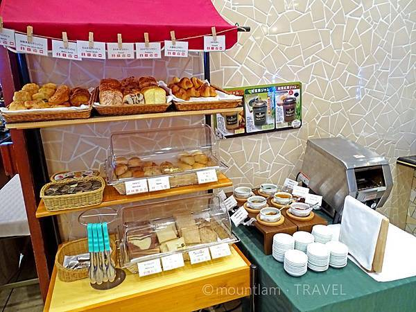鹿兒島城山酒店早餐自家製麵包 Shiroyama Hotel Kagoshima