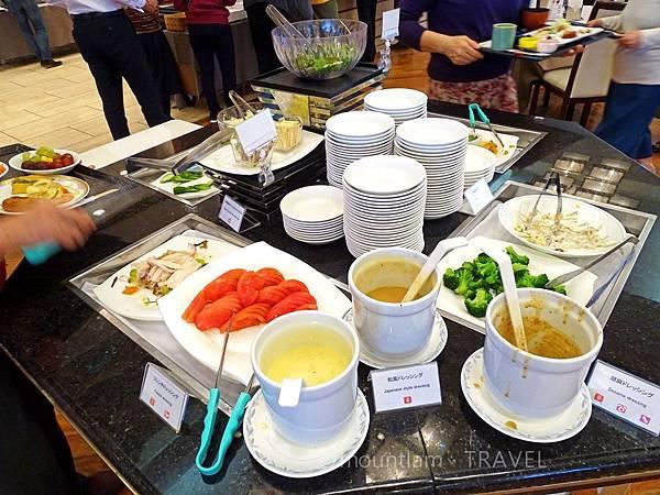 鹿兒島城山酒店早餐salad bar Shiroyama Hotel Kagoshima