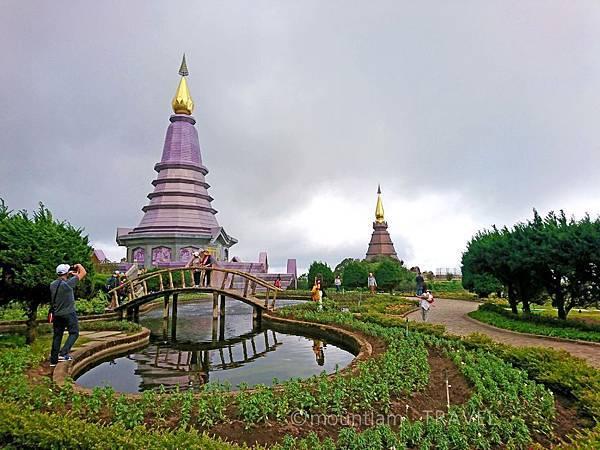 清邁茵他儂國家公園一日遊 國王皇后雙塔(King's and Queen's Pagoda)