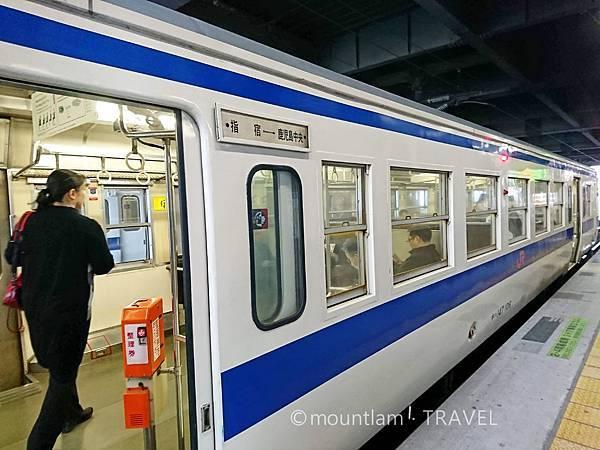 鹿兒島中央車站乘坐JR到指宿